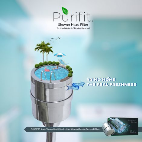 purifit shower head filter
